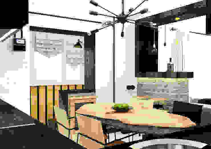 Креатив лофта Кухня в стиле лофт от AbcDesign Лофт