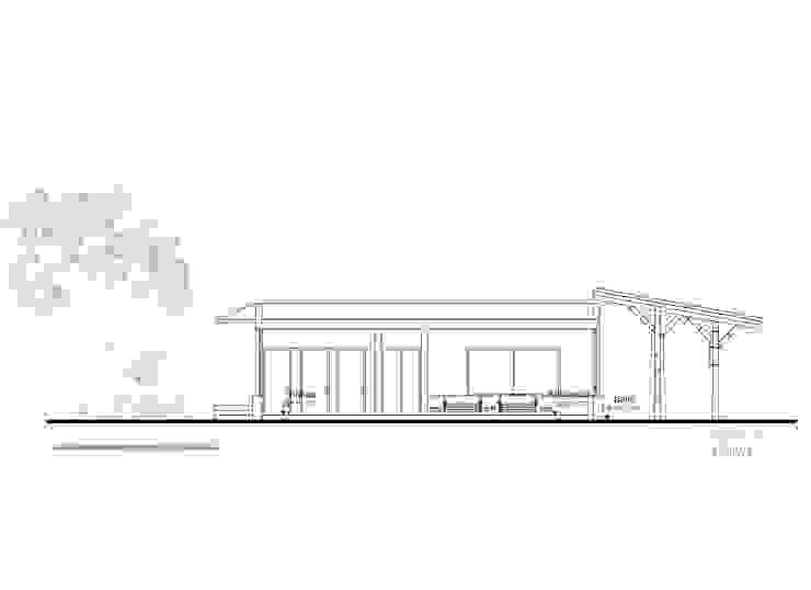 Corte 2 de Komoni Arquitectos Rústico