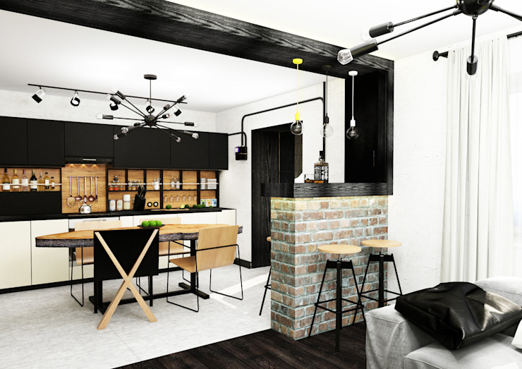 AbcDesign Industrial style kitchen
