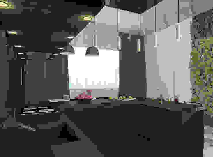 ミニマルデザインの キッチン の Nox ミニマル