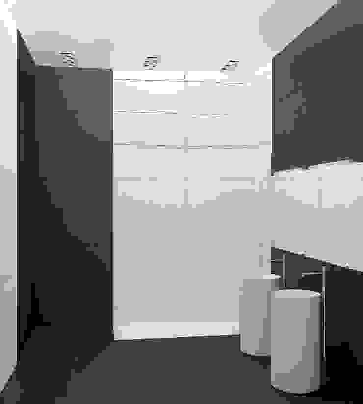 ミニマルスタイルの お風呂・バスルーム の Nox ミニマル