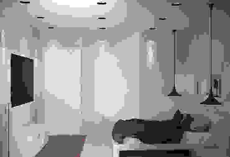 new feature Спальня в стиле минимализм от Nox Минимализм
