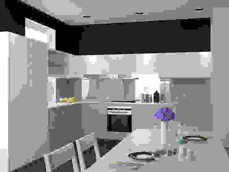 new feature Кухня в стиле минимализм от Nox Минимализм