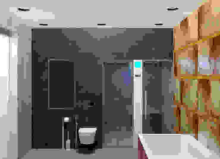 new feature Ванная комната в стиле минимализм от Nox Минимализм