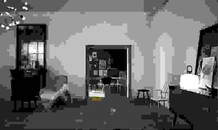 Wiktoria Ginter - interiorismo Klasik Oturma Odası