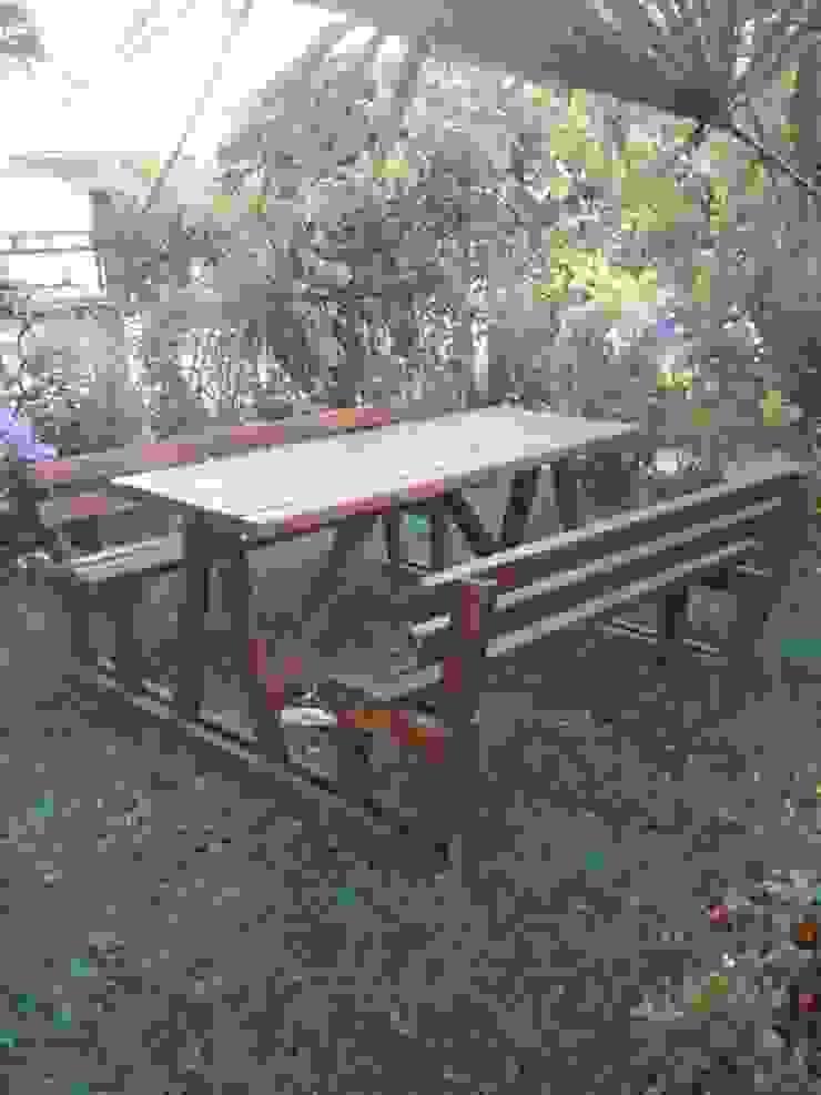 Bahçe Mobilyaları Wood Garden Akdeniz