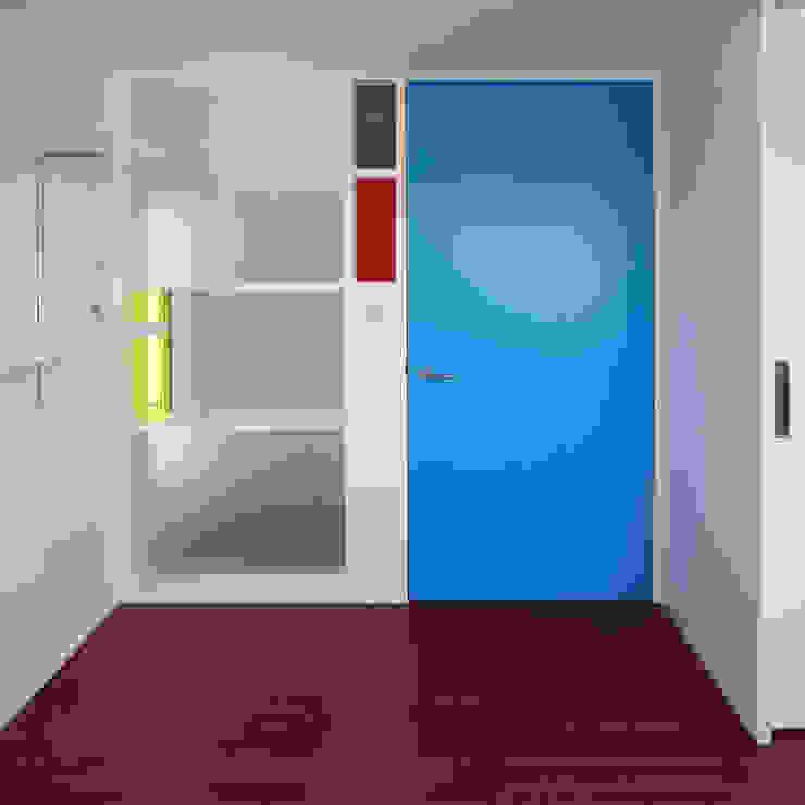 Estudios y biblioteca de estilo  por ユミラ建築設計室, Moderno