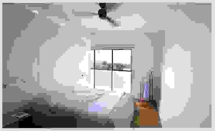 Casa Neuman Dormitorios de estilo moderno de Capital Conceptual Moderno
