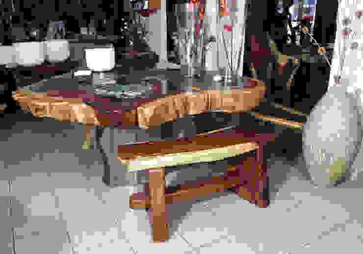 Mesa y accesorios de Cenquizqui Rústico
