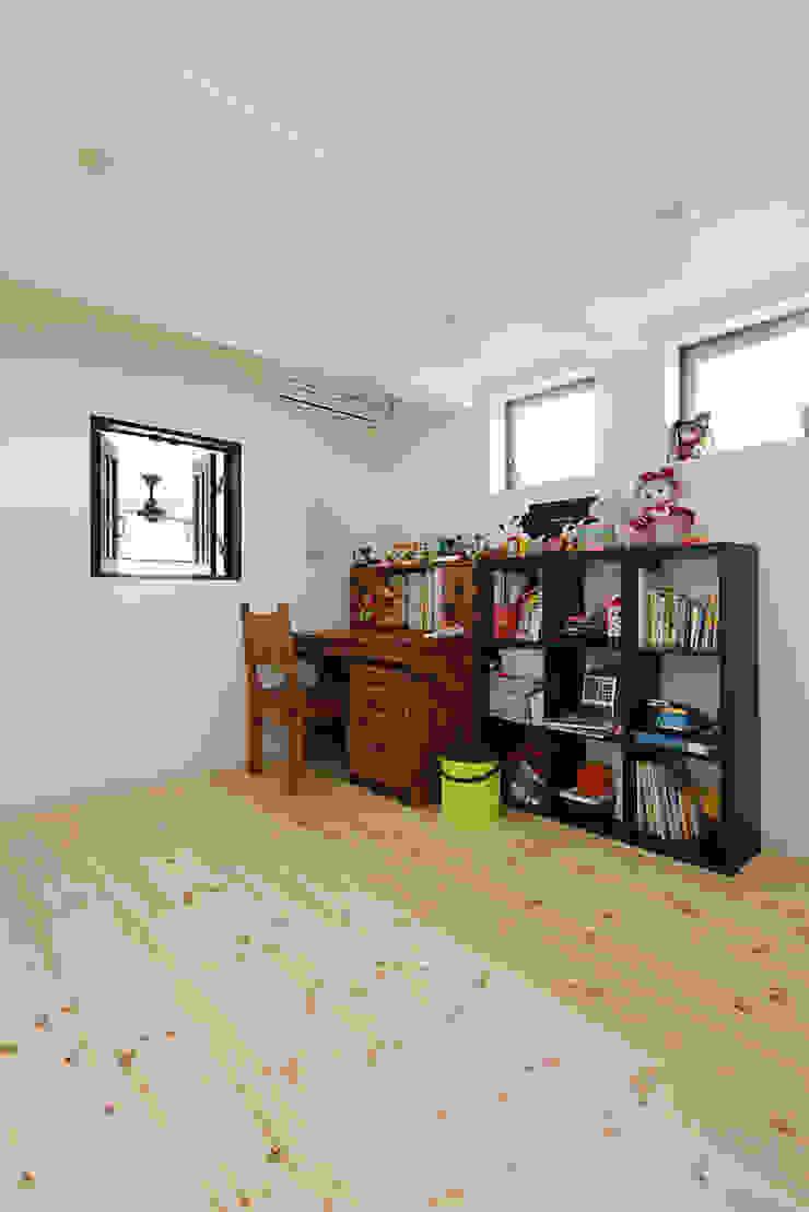 古民家な家 和風デザインの 子供部屋 の 有限会社タクト設計事務所 和風