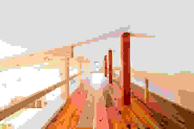 ロフトスペース モダンデザインの 多目的室 の 奥村幸司建築設計室 モダン