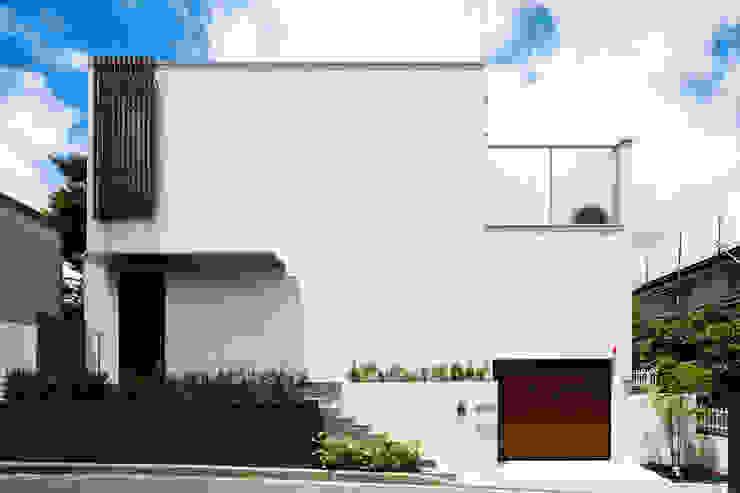 シンプルな外観デザイン モダンな 家 の TERAJIMA ARCHITECTS モダン