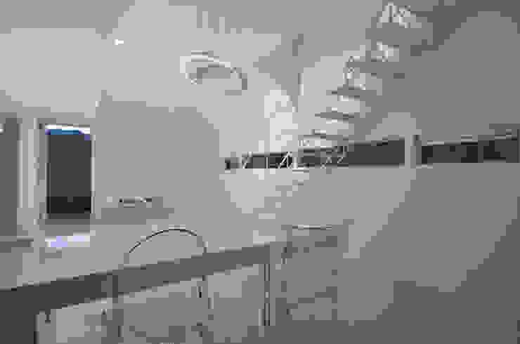 湧水町の住宅 モダンデザインの ダイニング の アトリエ環 建築設計事務所 モダン
