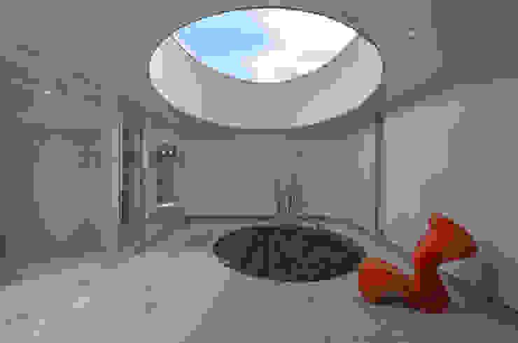 湧水町の住宅 モダンな庭 の アトリエ環 建築設計事務所 モダン