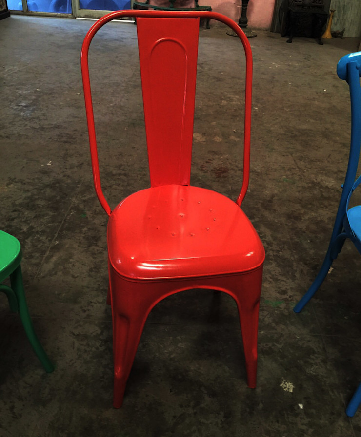Iron chairs Industrial style event venues by ALPA CORP Industrial
