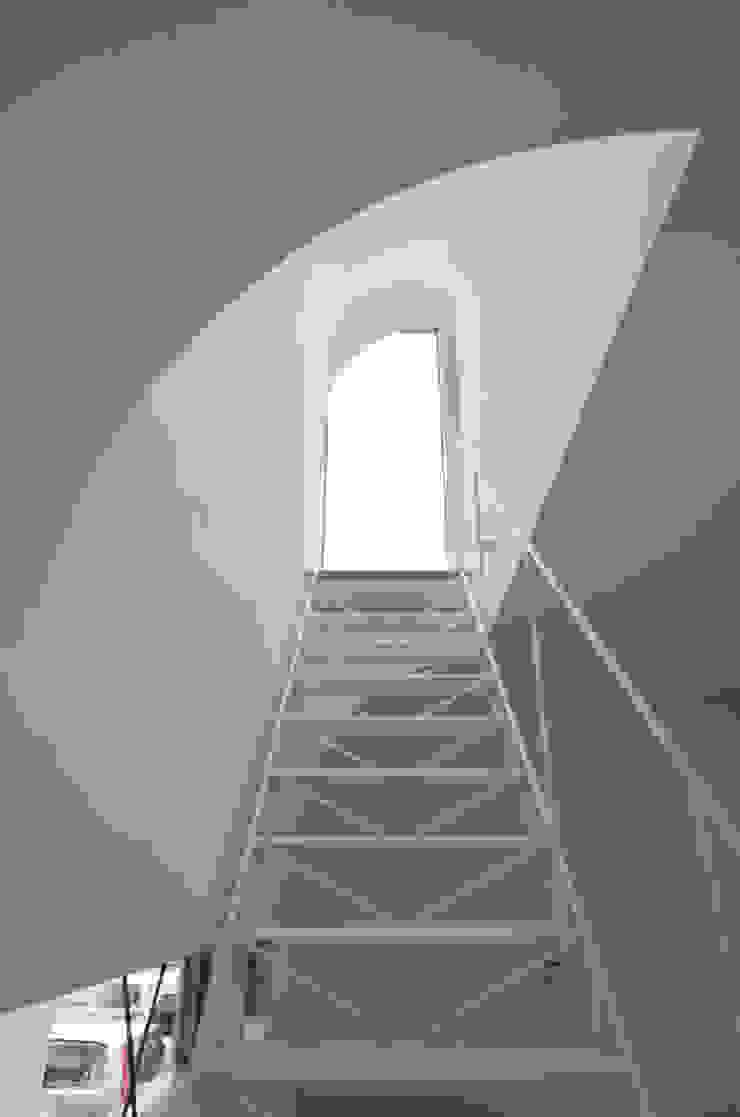 湧水町の住宅 モダンスタイルの 玄関&廊下&階段 の アトリエ環 建築設計事務所 モダン