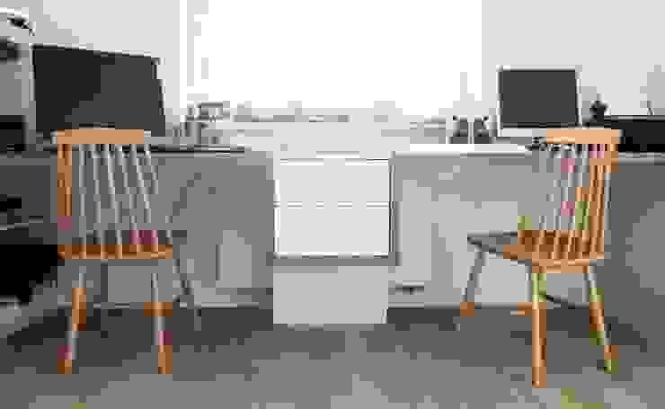 Oficinas de estilo escandinavo de idea projekt Escandinavo
