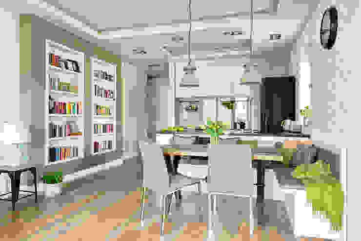 KUCHNIA SKANDYNAWSKO, KLASYCZNIE I INDUSTRIALNIE: styl , w kategorii Kuchnia zaprojektowany przez ZEN Interiors - Architektura Wnętrz,Skandynawski