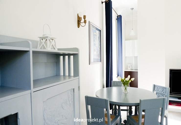 Eclectic style dining room by idea projekt Eclectic