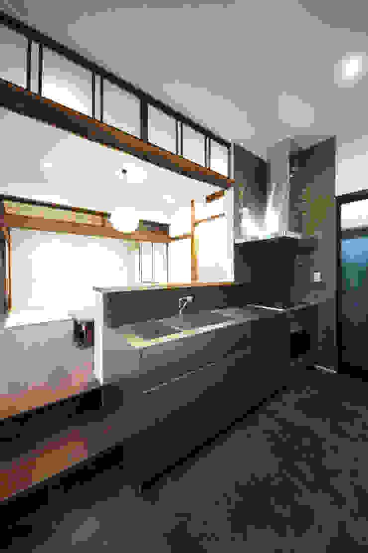 TERAJIMA ARCHITECTS/テラジマアーキテクツ ห้องครัว