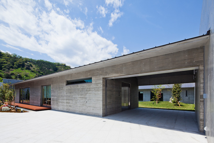 ファサード 依田英和建築設計舎 モダンな 家