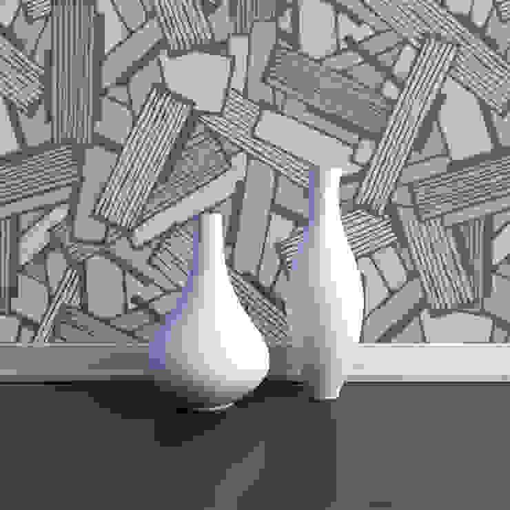 Shatter Intricate Geometric Art Deco de Interiors by Element Ecléctico