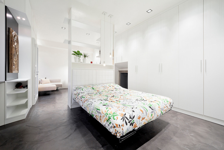 Bedroom by 23bassi studio di architettura