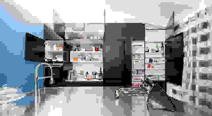 Cuisine minimaliste par 23bassi studio di architettura Minimaliste