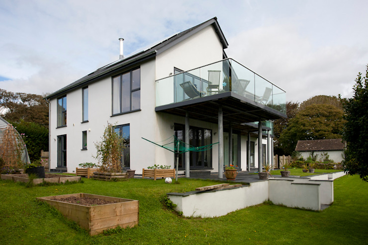 Contemporary Home, Bude, Cornwall Casas modernas de The Bazeley Partnership Moderno