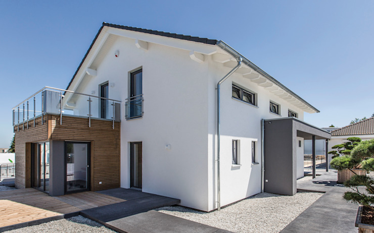 neues Musterhaus Simmern Moderne Häuser von massa haus GmbH Modern