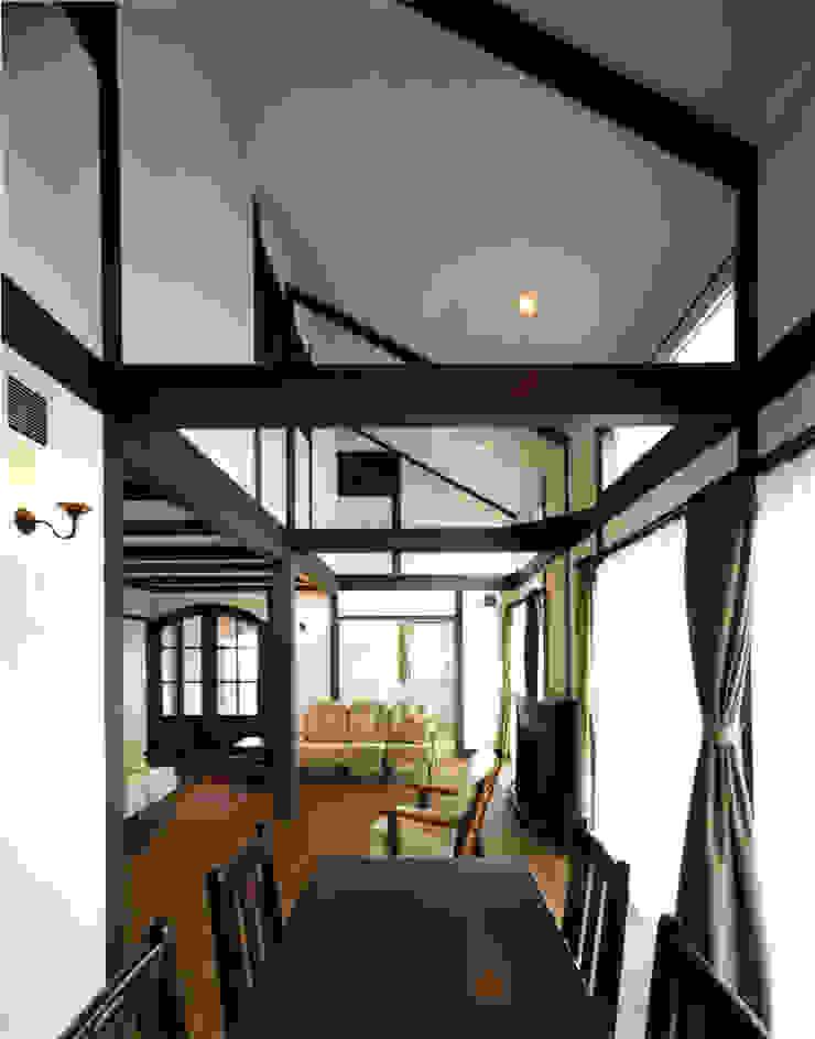 生駒の家 北欧デザインの リビング の 中間建築設計工房/NAKAMA ATELIER 北欧