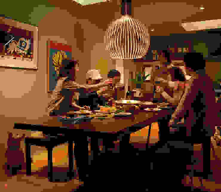 無垢の木のキッチン「su:iji(スイージー)」 ウォールナット: 株式会社ウッドワンが手掛けたカントリーです。,カントリー