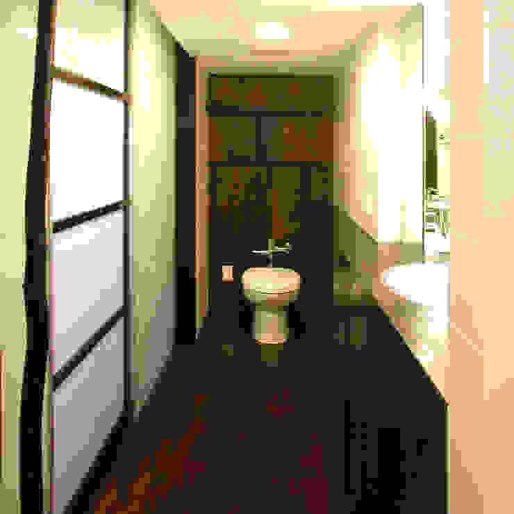 Salle de bain classique par ユミラ建築設計室 Classique