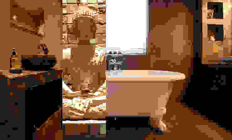 Salle de bain Zen, Founex Salle de bain asiatique par LAdesign Asiatique
