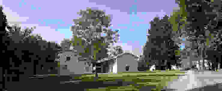 Transformation d'une ferme avicole en logement par [GAA] GUENIN Atelier d'Architectures SA Moderne