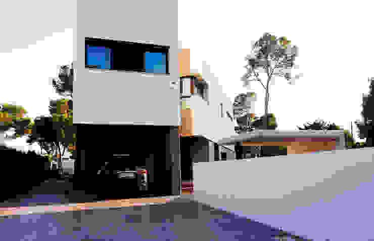Vivienda bioclimática en la Cañada Casas de estilo ecléctico de 3 M ARQUITECTURA Ecléctico