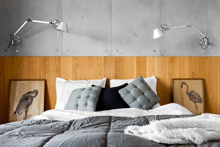 Bedroom by Contractors, Modern Concrete