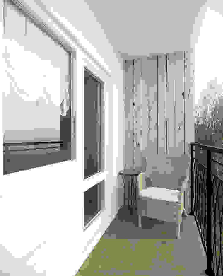 Balcon, Veranda & Terrasse ruraux par Krupp Interiors Rural