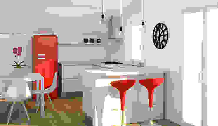 Cozinhas modernas por OGARREDO Moderno