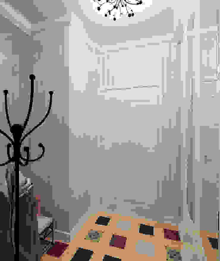 Прихожая Коридор, прихожая и лестница в стиле кантри от Krupp Interiors Кантри