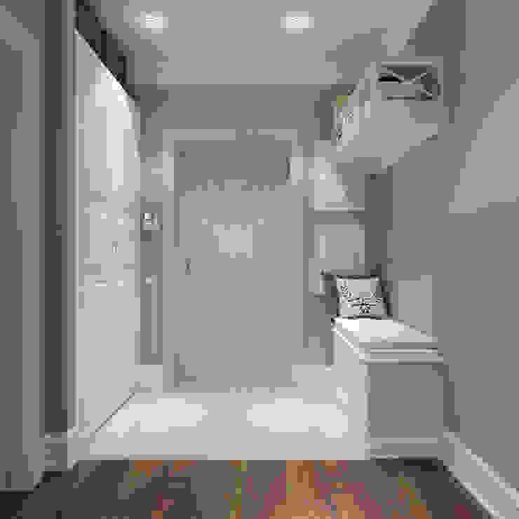 Massimos / cтудия дизайна интерьера Pasillos, vestíbulos y escaleras de estilo clásico