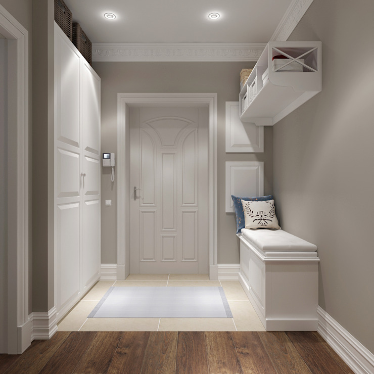 Klasik Koridor, Hol & Merdivenler Massimos / cтудия дизайна интерьера Klasik