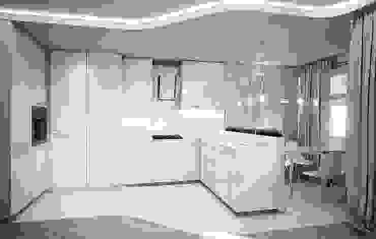 Квартира в Кунцево Кухня в стиле минимализм от AFTER SPACE Минимализм