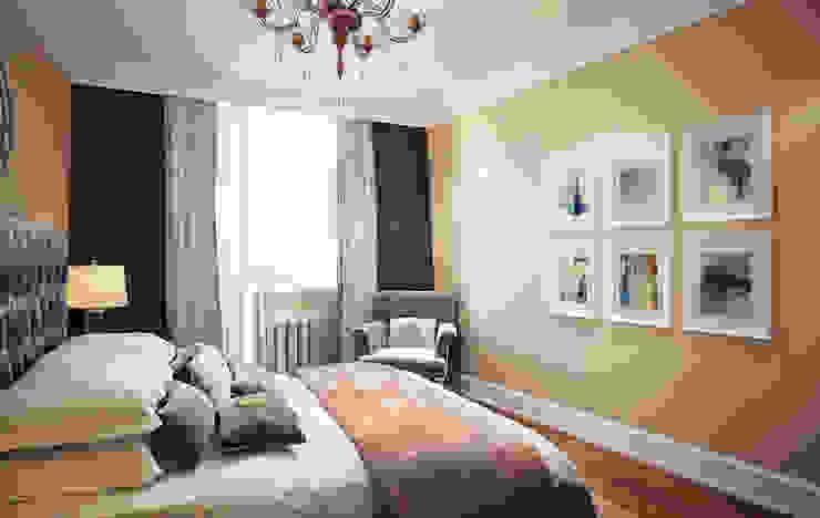 Massimos / cтудия дизайна интерьера Dormitorios de estilo clásico