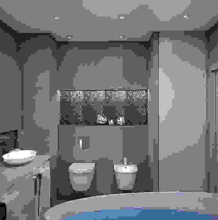 Квартира в Кунцево Ванная комната в стиле минимализм от AFTER SPACE Минимализм