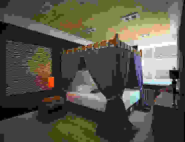 Спальня Спальня в эклектичном стиле от Krupp Interiors Эклектичный