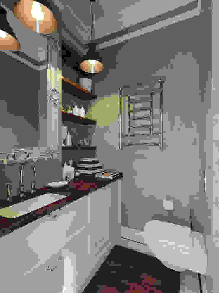 Industrial style bathrooms by Aiya Design Industrial
