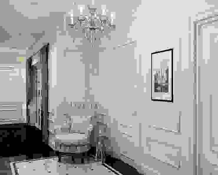 Давыдковская, Москва Коридор, прихожая и лестница в классическом стиле от Massimos / cтудия дизайна интерьера Классический