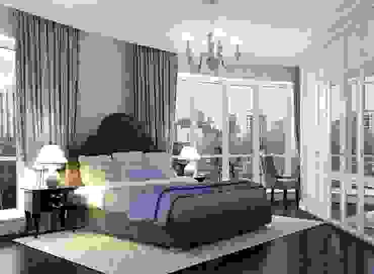 Давыдковская, Москва Спальня в классическом стиле от Massimos / cтудия дизайна интерьера Классический