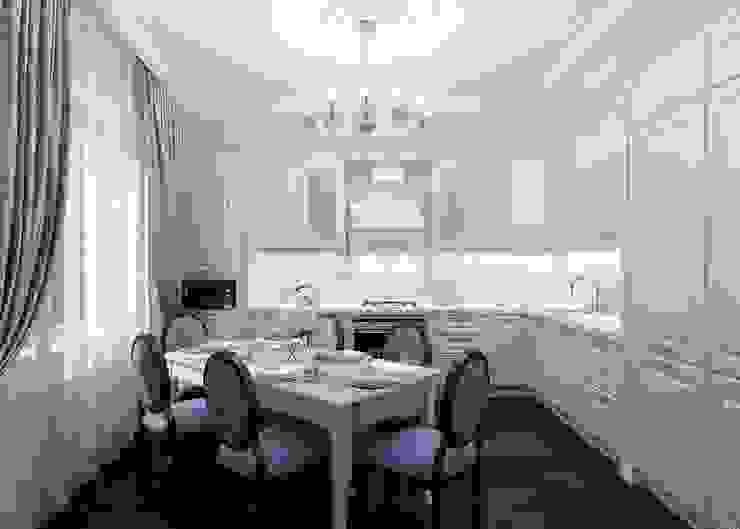 Давыдковская, Москва Кухня в классическом стиле от Massimos / cтудия дизайна интерьера Классический